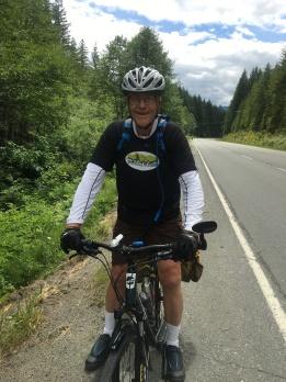 Colin is a biking machine.